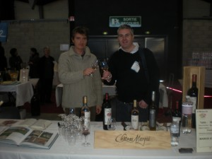 Phillipe Guillanton and Gary Gubbins at Milliseme Bio 2010