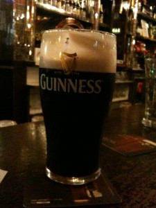 pint of Guinness