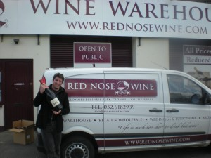 Samuel at Red Nose Wine