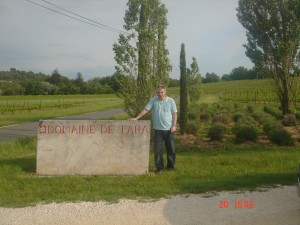Gary Gubbins of Red Nose Wine at Domaine de Tara