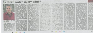 Red Nose Wine Article - Nationalist July 8 2010