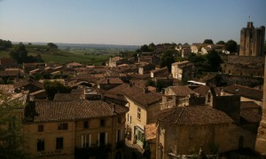 Saint Emilion Terrace view