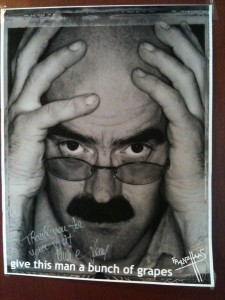 The poster of Franz Haas we all received as we left