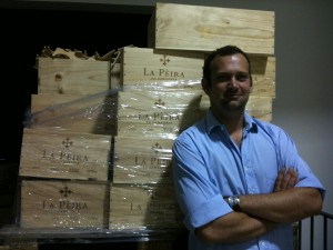 Winemaker Jeremie Depierre of La Peira