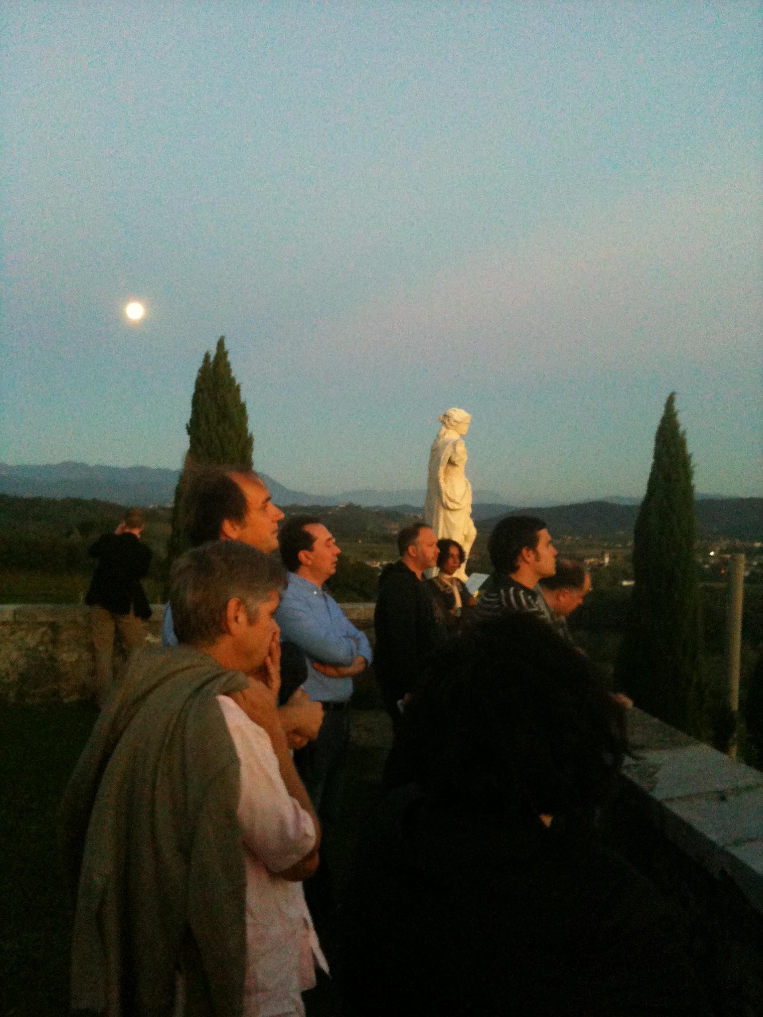 Sunset in Rosazzo