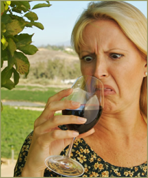 When Wine goes Bad