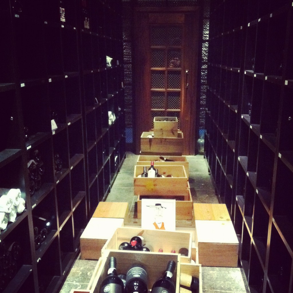 The Cliff House and their Wine cellar