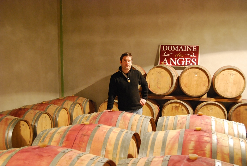 Florent Chave of Domaine des Anges