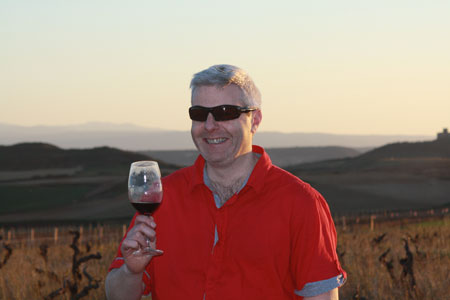 The black teeth in a Rioja sunset