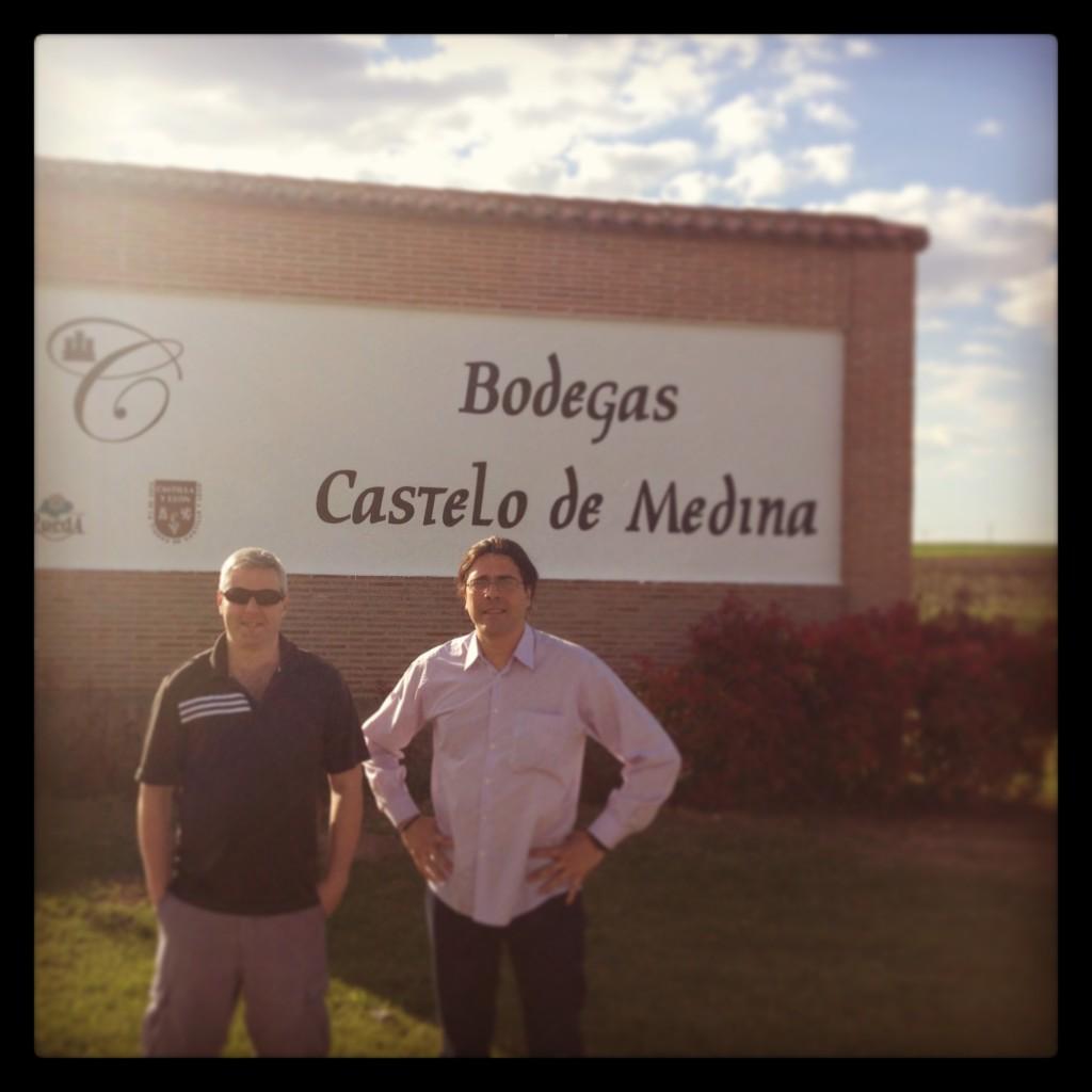 Gary visiting Castello de Medina earlier this year