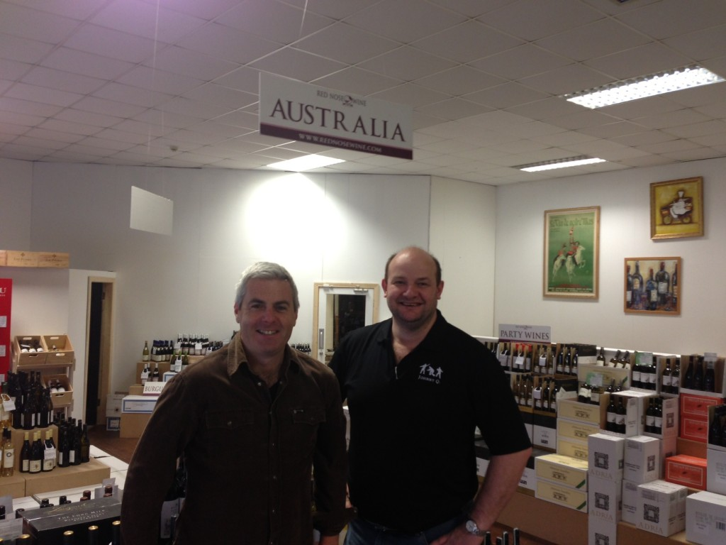 Johnny Q visits Red Nose Wine at The Regal Centre