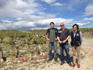 Gary meets winemaker and owner Damien & Cathy of Mas de La Barben