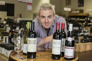 Gary Gubbins proprietor of Red Nose Wine and organiser of the fundraising event