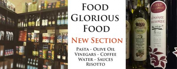 Food Glorious Food - a new section