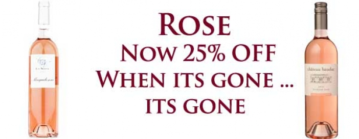 Rose SALE - 25% OFF
